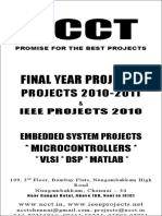 NCCT - Projects 2010 - Power Electronics Titles List
