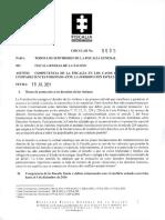 Circular Fiscalía que permite imputar a procesados en la JEP