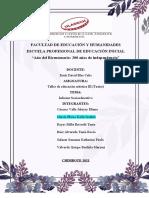 INFORME FINAL SOCIOEDUCATIVO TEATRO