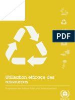 UNEP Factsheets Resources Efficiency (French)