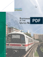 Sustainable Travel in the UN