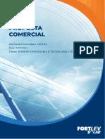 Orcamento Fortlev Solar 600