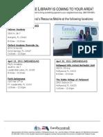 BC Resource Van Flyer April 2011