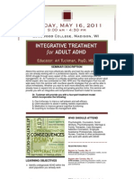Integrative Treatment for Adult ADHD
