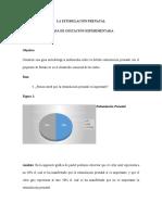 LA ESTIMULACIÓN PRENATAL GRAFICAS Y ANALISIS (1)
