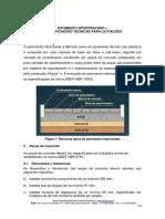 Pavimento Intertravado Especificações Técnicas Para Licitações
