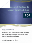 Automated Seaside Interface to a VisualWorks and GemStone Application Framework – Bob Nemec