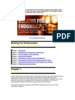 Bulking 4 Endomorph
