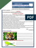 EXAMEN MENSUAL  DE RAZONAMIENTO VERBAL