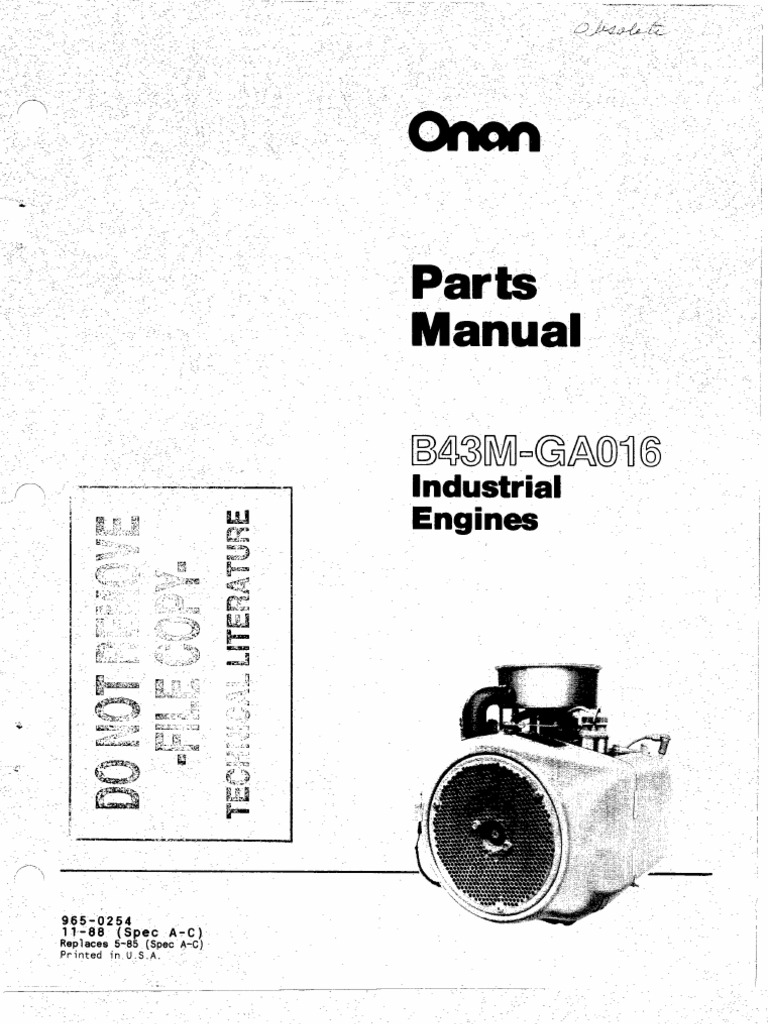 Onan B43m Parts Diagram Schematics Data Wiring Diagrams P216 B43g Odicis Engine