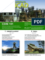 Computer Aided Drafting&Design - CDAE 101 Z1 - Course Syllabus or Other Course-Related Document