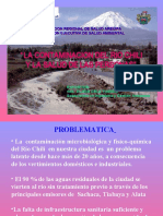 2 CONTAMINACION RIO CHILI Y LA SALUD PUBLICA, MINSA DIRESA
