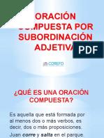 COM5S_U8_Oración compuesta por subordinación adjetiva