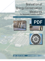 832R10005 (Evaluation of Energy Conservation Measures for Wastewater Treatment Facilities)
