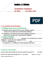 Cours  3 Chimie-eleve-TRAFI 2BAC