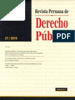 Revista Peruana de Derecho público