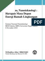 Nanoscience-Nanotechnology