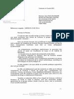 Lettre de Jean-Luc Moudenc à Jean-Michel Blanquer