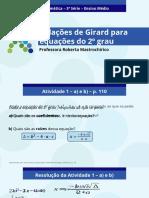 Girard - Seundo grau
