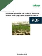 INIFAP-TECNOLOGIAS-FORESTALES 2004-2009