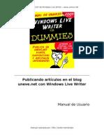 Manual para publicacion de articulos en uneve.net