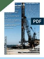Evaluation of In-Situ soil parameter for FEM