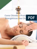 Cone Chinês e Protocolos Energéticos dos Chakras