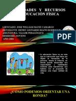 Actividades y Recursos de la Educación Física