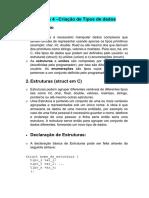 Unid4-CriacaoNovosTipos-struct-enum-union