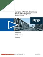 Advanced PATROL Knowledge Module Development