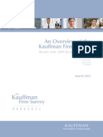 An Overview of the Kauffman Firm Survey