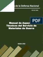 Manual De aspectos tecnicos de materiales de guerra