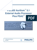 Phillips PSC805 Manual