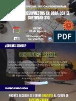 Brochure-costos y Presupuestos en Obra Con El Software s10