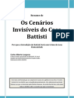 Os Cenários Invisíveis do Caso Battisti
