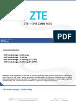 ZTE - ONT F601