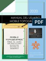 MANUAL DEL USUARIO MOBILE TOPOGRAPHER GIS 2