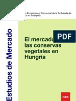 """Estudio de mercado """"El mercado de las conservas vegetales en Hungría"""""""