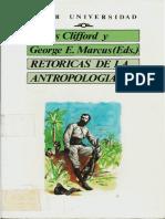 Clifford & Marcus - Retóricas de la antropología