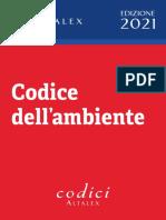 Codice Dell Ambiente 14 Aprile 2021