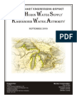 Karegnondi Water Authority - Preliminary Engineering Report - Sept 2009