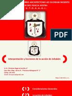 9º Interpretaciones y lecciones de la Acción de Johaben - V.·. H.·. Christian Zegarra Carrillo, 9°