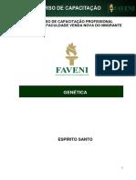 Genética CURSO DE CAPACITAÇÃO PROFISSIONAL FAVENI – FACULDADE VENDA NOVA DO IMIGRANTE