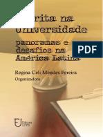 PEREIRA - ESCRITA NA UNIVERSIDADE