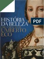História da Beleza -Umberto Eco (com capa)