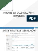 Como Verificar Dados Demográficos No Analytics