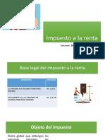 Impuesto a la renta tributacion II conferencia 1