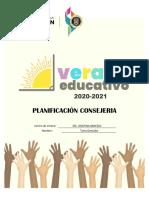 Verano Educativo-2020-2021_PLANIFICACIÓN DE LA ENSEÑANZA