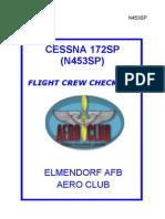 Checklist Cessna 172 SP