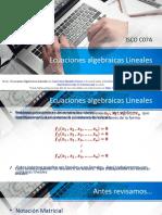 ECS SIMULT - 3 REGLA DE CRAMER